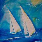 Sunny Sail by MarleyArt123