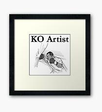 KO Artist Framed Print