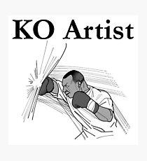 KO Artist Photographic Print
