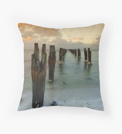 Old Jetty 2 Throw Pillow