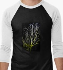 Winter Trees Men's Baseball ¾ T-Shirt