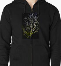 Winter Trees Zipped Hoodie