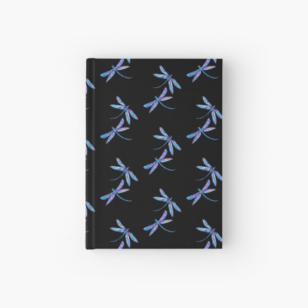 Dragonfly Delight Hardcover Journal