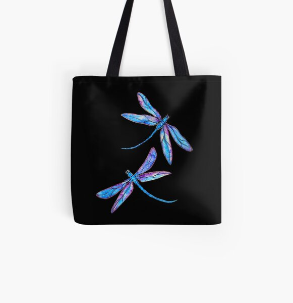 Dragonfly Delight All Over Print Tote Bag