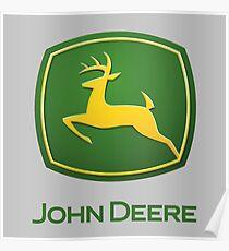John Deere Logo Poster