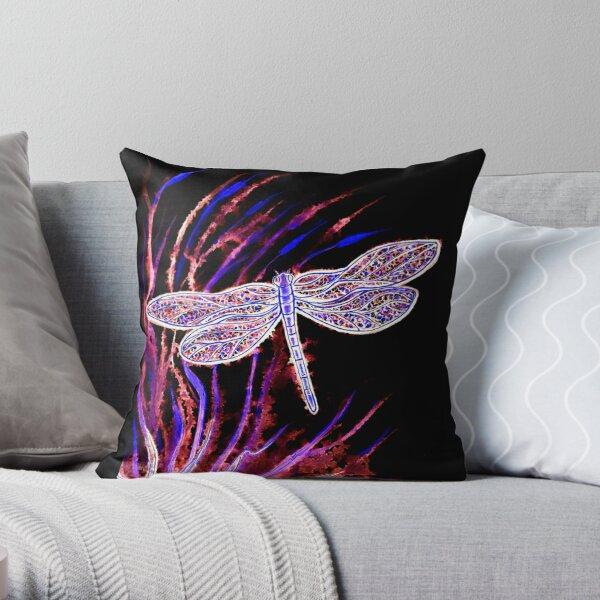 Midnight Flight Throw Pillow