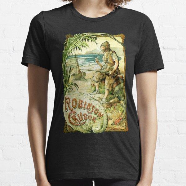 Robinson Crusoe Daniel Defoe Book Cover T-Shirt Essential T-Shirt