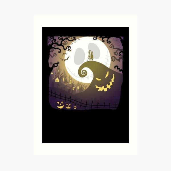 Nightmare before Halloween 2.0 Art Print