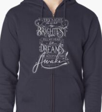Brightest Colors Zipped Hoodie