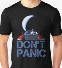 Starman nicht Panik im Weltraum Unisex T-Shirt