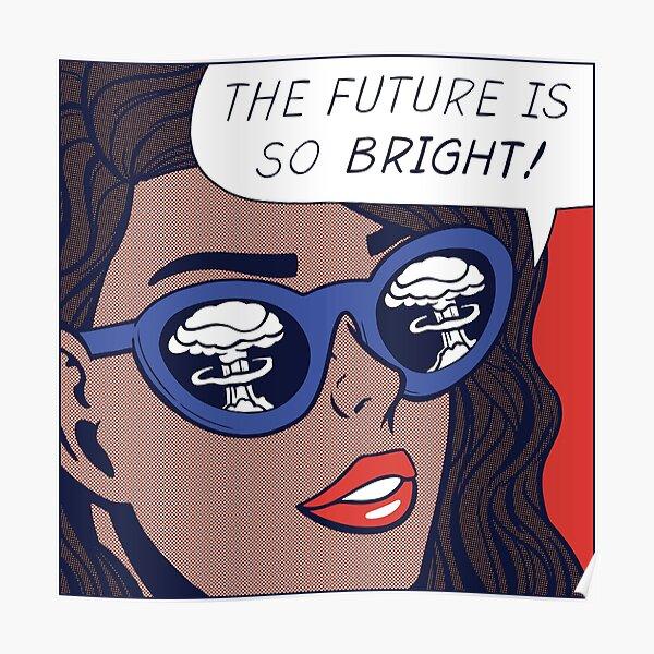 Pop Optimism Girl Poster