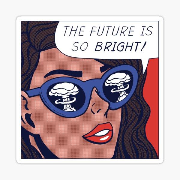 Pop Optimism Girl Pegatina