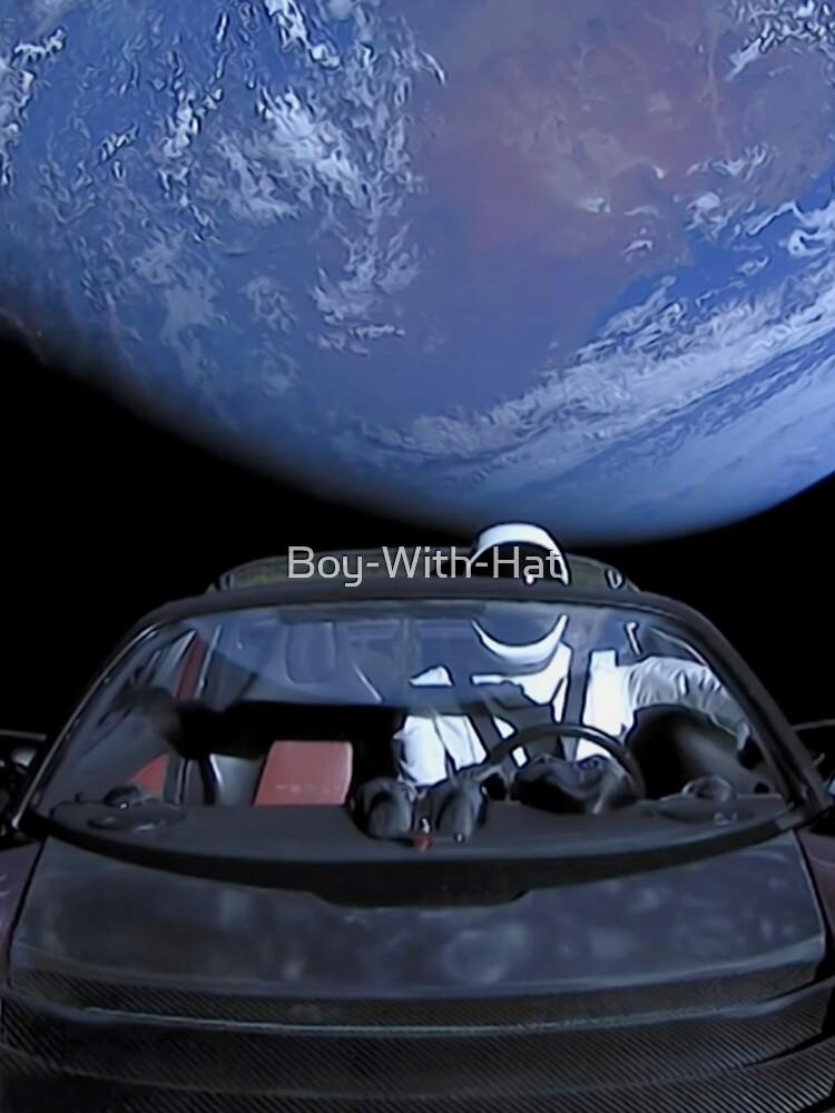 Spacex verlässt die Erde von Boy-With-Hat