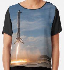 Spacex Falcon Heavy Side Booster Landung Chiffontop