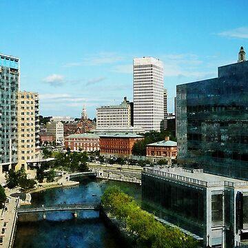 Providence RI Skyline by SudaP0408