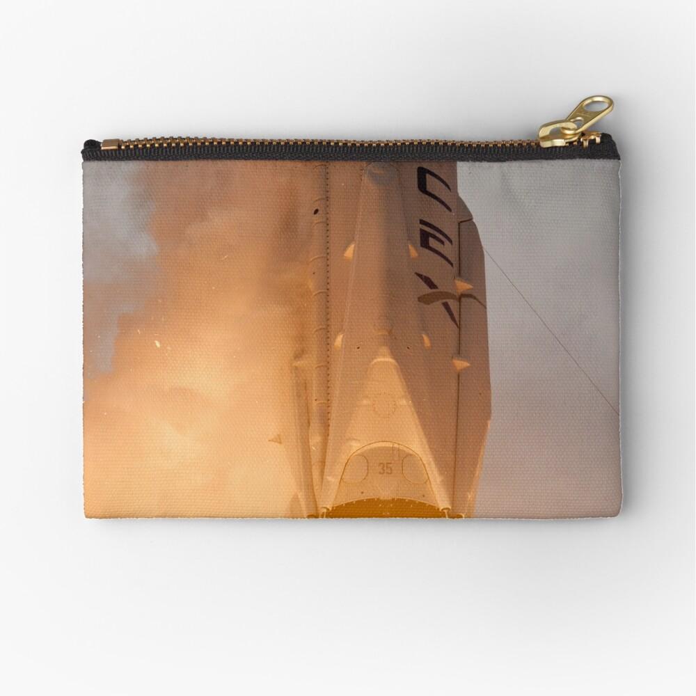 Spacex Rakete Täschchen