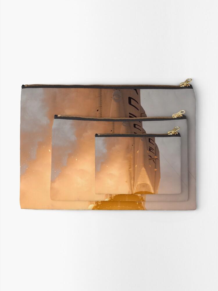 Alternative Ansicht von Spacex Rakete Täschchen