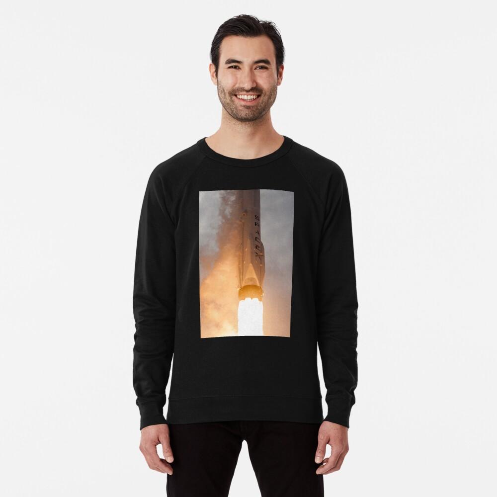 Spacex Rakete Leichter Pullover
