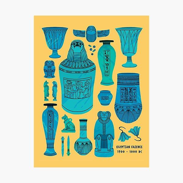Egyptian Faience Photographic Print