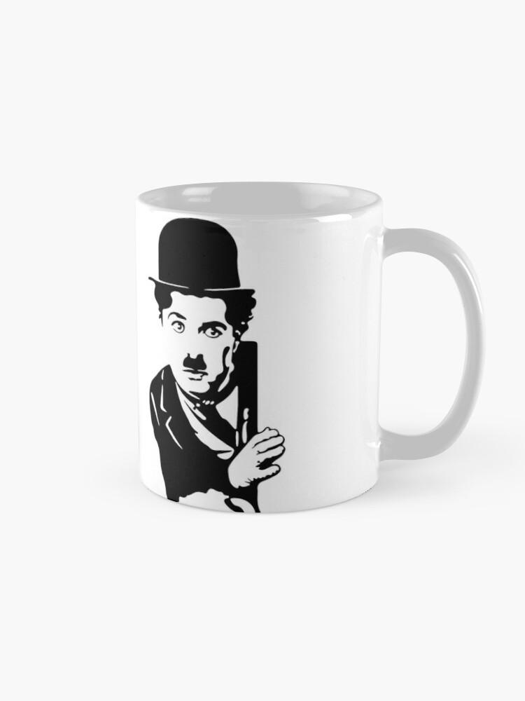 Alternate view of Charlie Chaplin The Kid 1921, Poster Artwork Design Mug