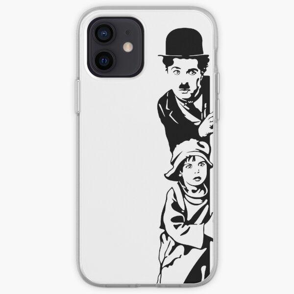 Charlie Chaplin The Kid 1921, Poster Artwork Design Funda blanda para iPhone