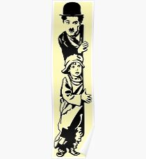 Charlie Chaplin The Kid 1921, Poster Artwork Design Poster