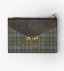 TARTAN LEATHER SASSENACH 2 Studio Pouch