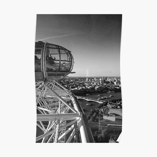 Atop the London Eye Poster