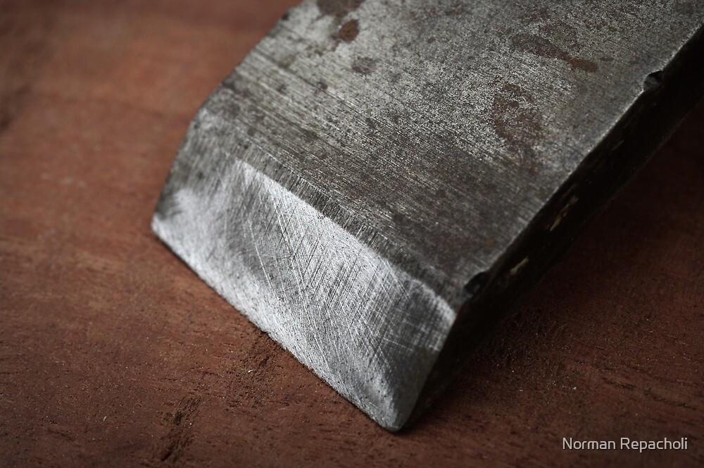 Chiseled edge by Norman Repacholi