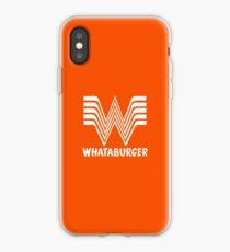 Whataburger iPhone Case