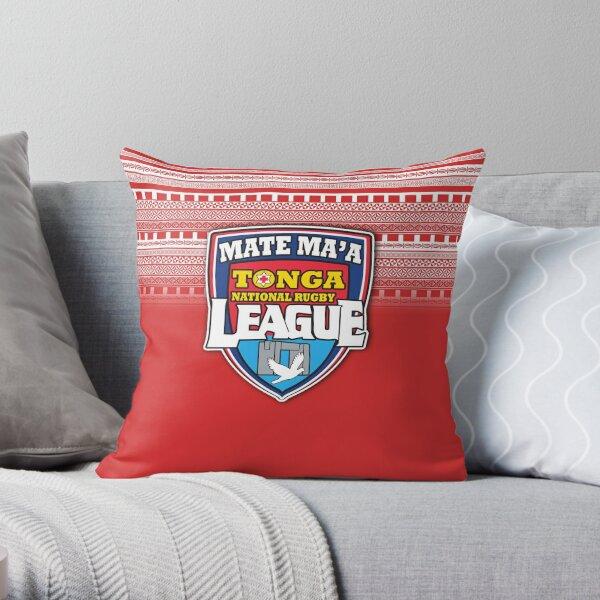 Mate Ma'a Tonga Throw Pillow