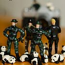 The 1-18 Animal Rescue Team - Team and pandas photo shoot by Martine Carlsen