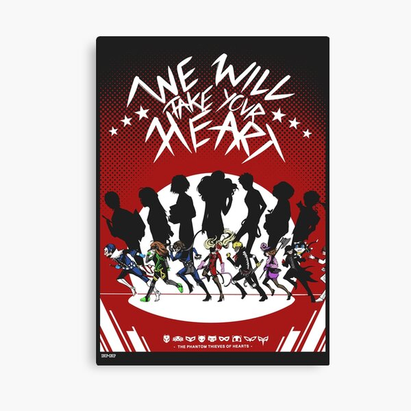 We will Take your Heart Canvas Print
