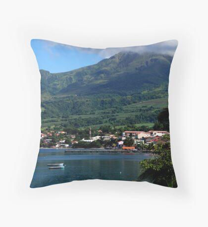 Saint Pierre - Martinique Throw Pillow