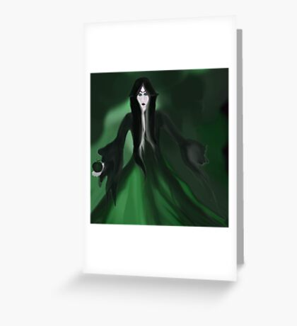 The Green Apple Greeting Card