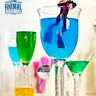 The 1:18 Animal Rescue Team - Cat in Cocktail Glass by Martine Carlsen