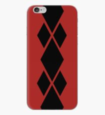 Red and Black Diamonds iPhone Case