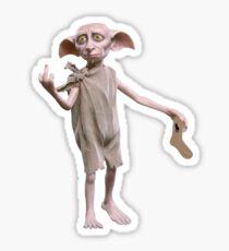 The Dobby sock Sticker