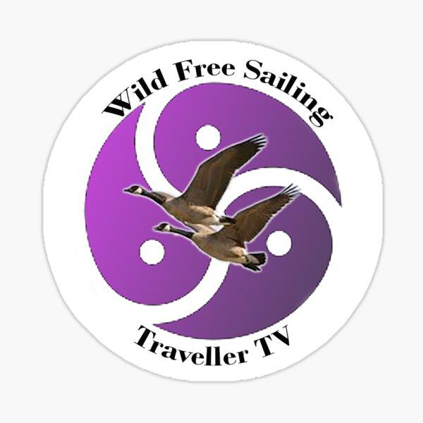 Wild Free Sailing Sticker