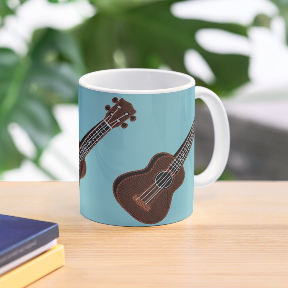 Ukulele Blues  Mug