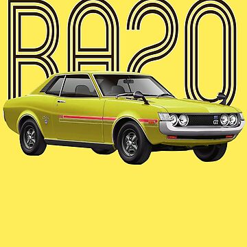 RA20 JDM Classic - Yellow by carsaddiction