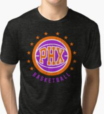 Retro Phoenix Basketball  Tri-blend T-Shirt