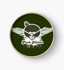 Funk Nation Afro Clock