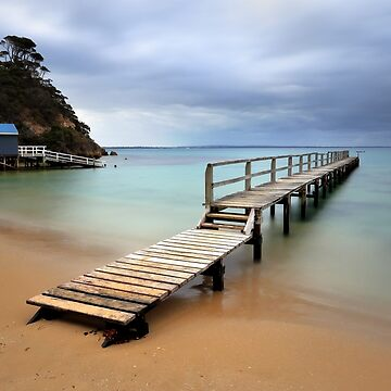 Shelley Beach Jetty - Portsea by PixelMuser