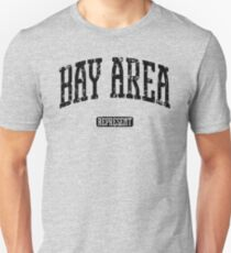 Bay Area Represent (Black Print) Unisex T-Shirt
