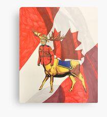Mountie Moose Centaur  Metal Print