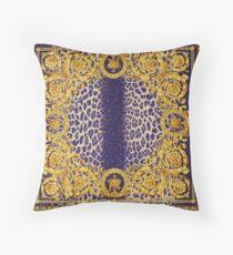 lion pattern Throw Pillow