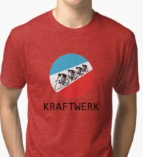 Kraftwerk Tour De France Tri-blend T-Shirt