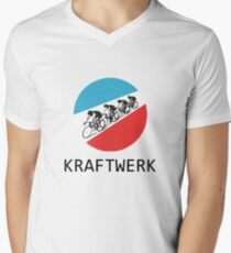 Kraftwerk Tour De France V-Neck T-Shirt