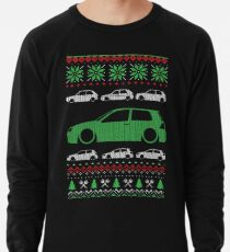 Golf 4 GTI R32 MK4 Christmas Ugly Sweater XMAS Lightweight Sweatshirt